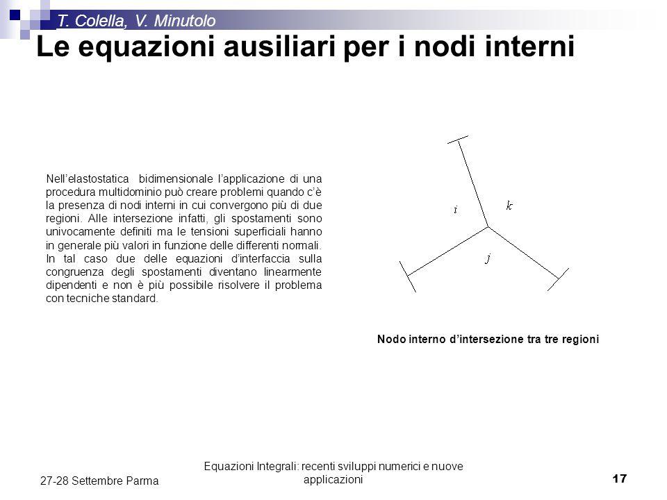 Nodo interno d'intersezione tra tre regioni