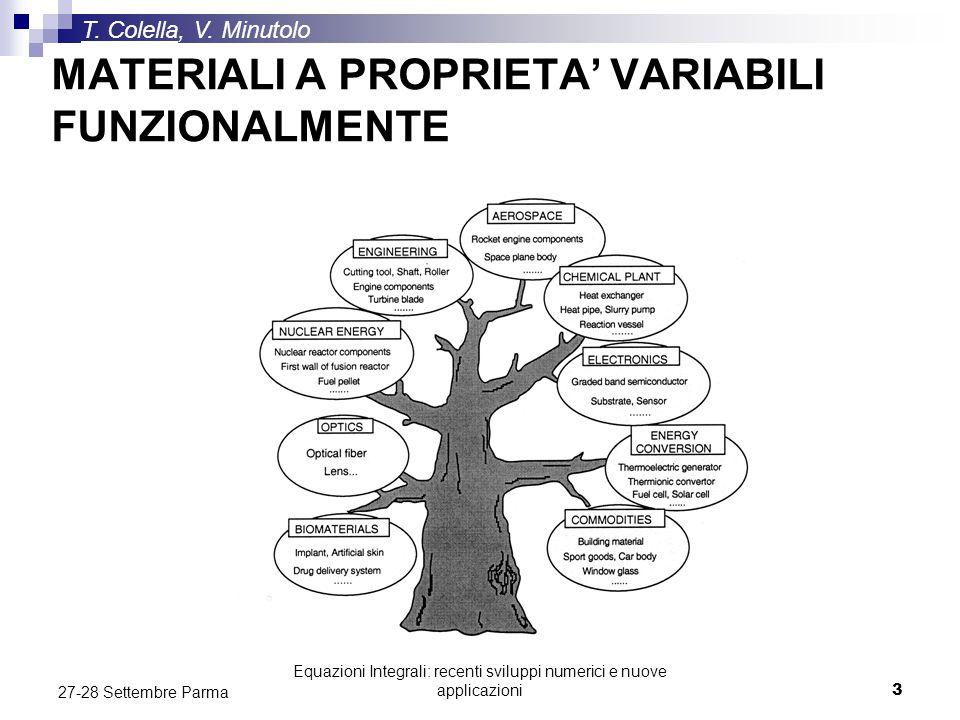MATERIALI A PROPRIETA' VARIABILI FUNZIONALMENTE