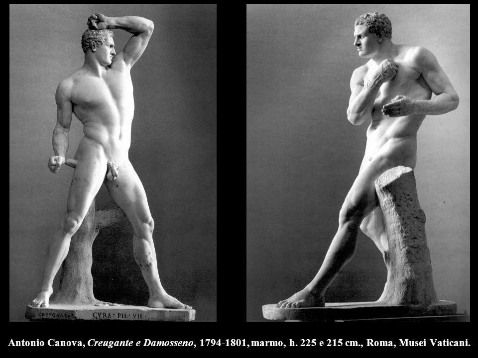 Antonio Canova, Creugante e Damosseno, 1794-1801, marmo, h