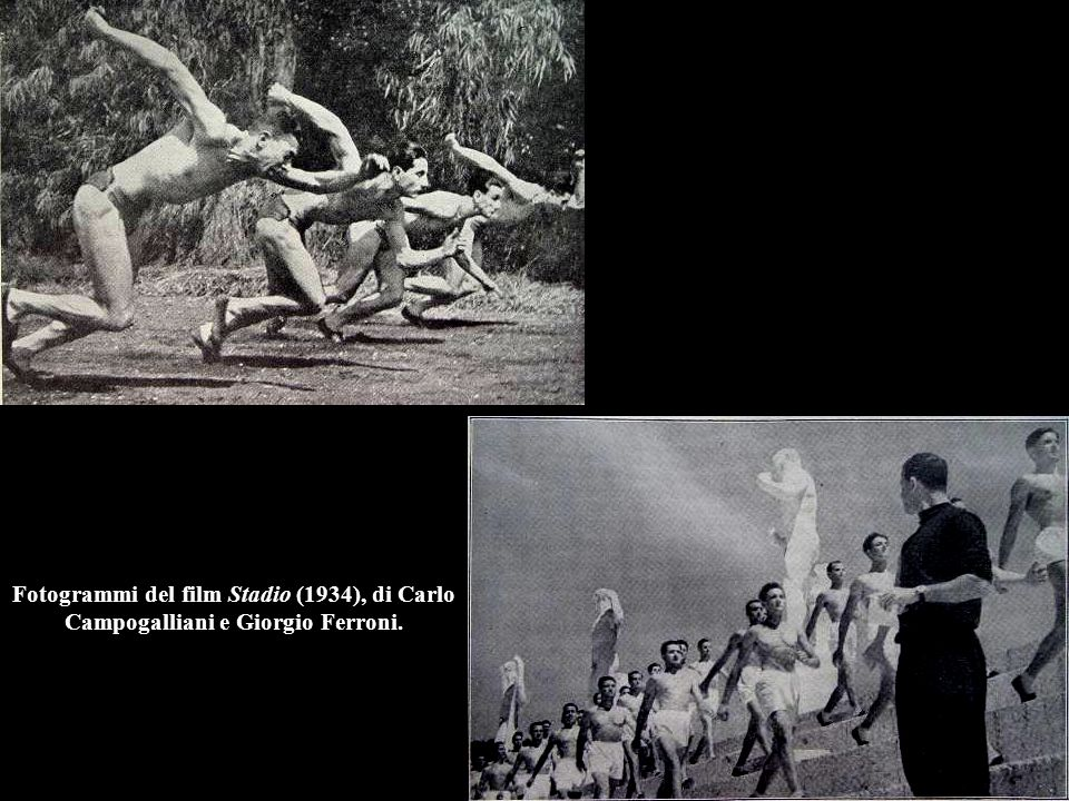 Fotogrammi del film Stadio (1934), di Carlo Campogalliani e Giorgio Ferroni.