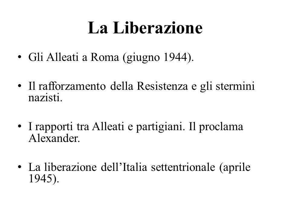 La Liberazione Gli Alleati a Roma (giugno 1944).