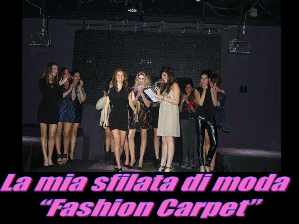 La mia sfilata di moda Fashion Carpet
