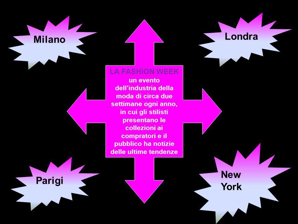 Londra Milano New York Parigi