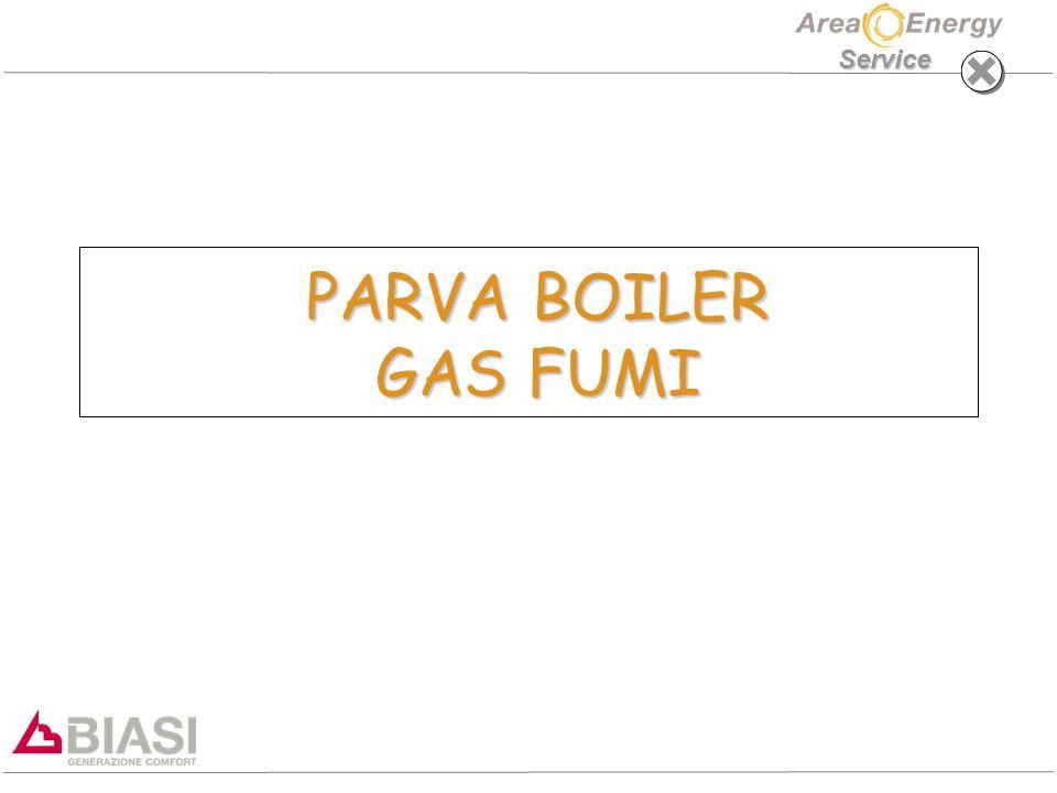 PARVA BOILER GAS FUMI