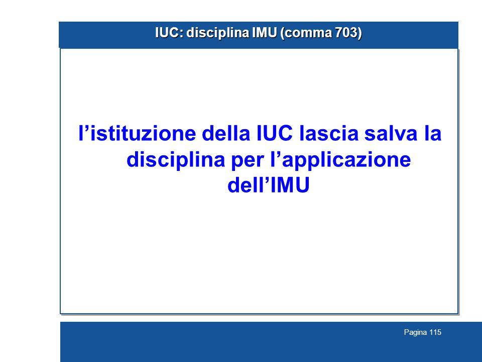 IUC: disciplina IMU (comma 703)
