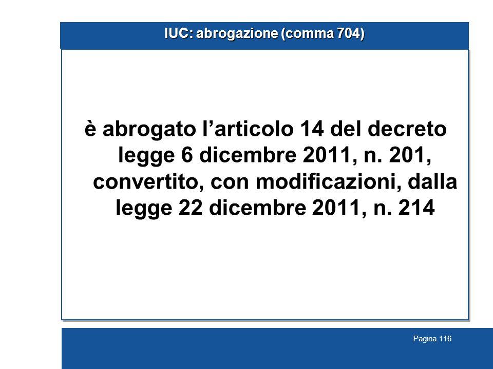 IUC: abrogazione (comma 704)