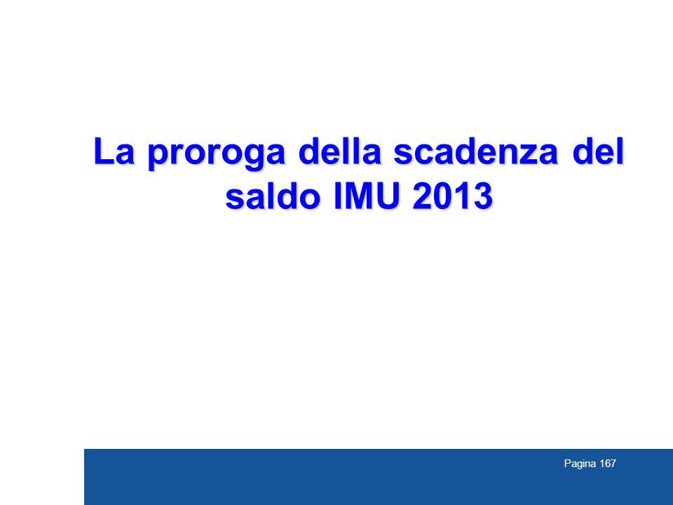 La proroga della scadenza del saldo IMU 2013