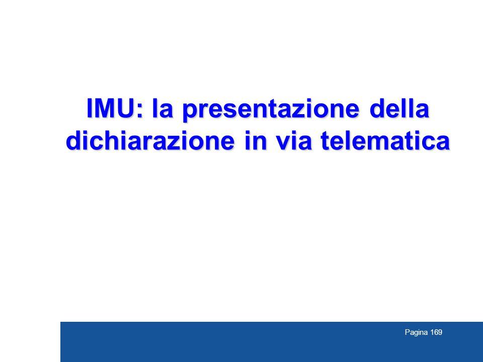IMU: la presentazione della dichiarazione in via telematica