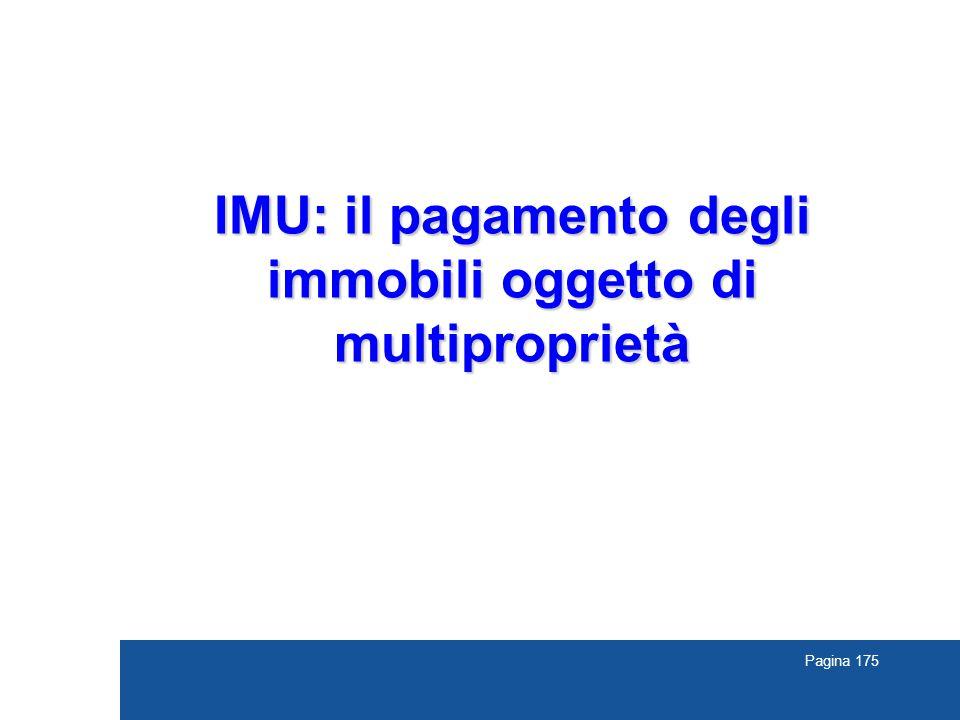 IMU: il pagamento degli immobili oggetto di multiproprietà