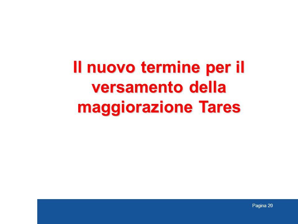 Il nuovo termine per il versamento della maggiorazione Tares