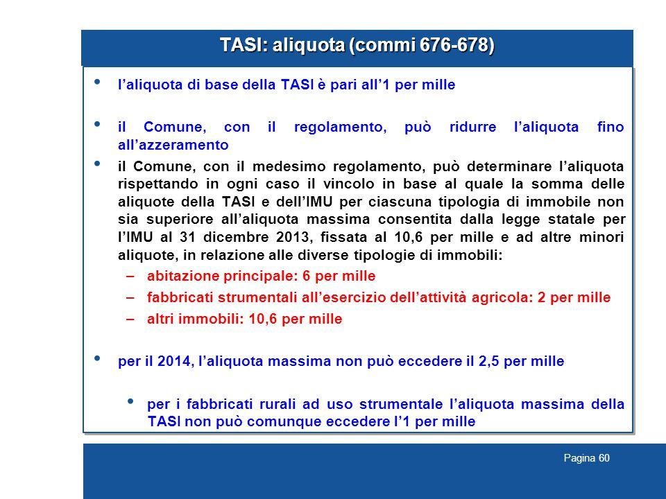 TASI: aliquota (commi 676-678)