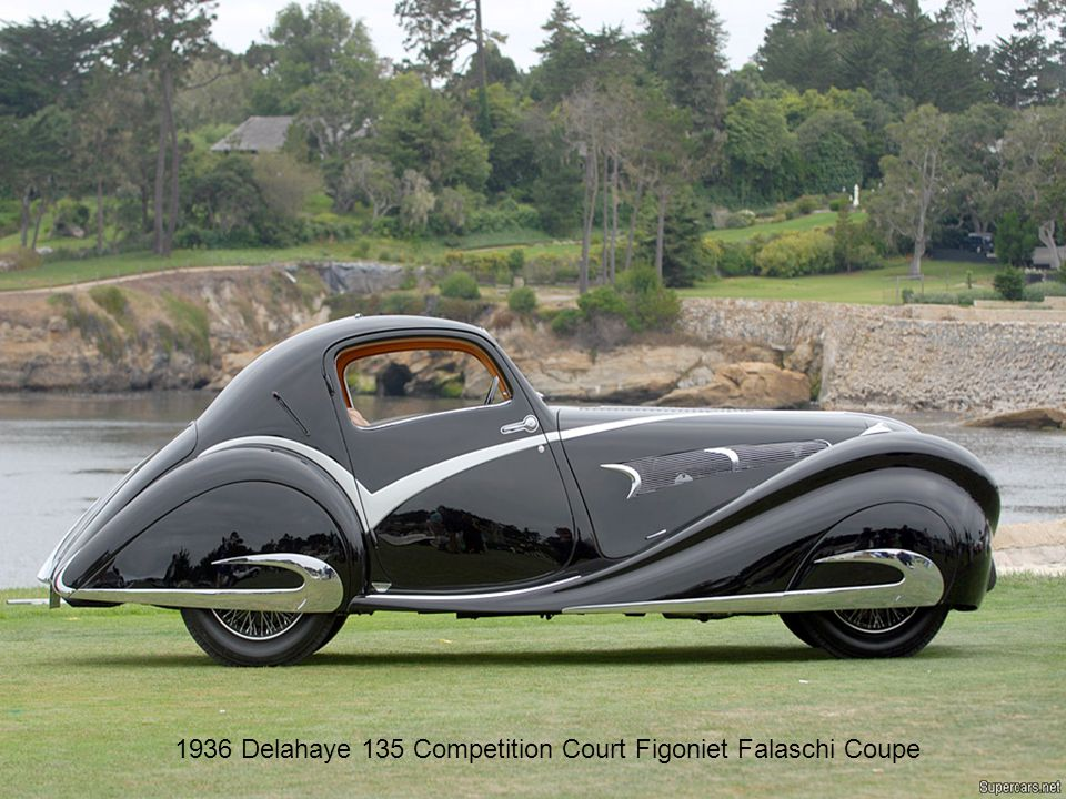 1936 Delahaye 135 Competition Court Figoniet Falaschi Coupe