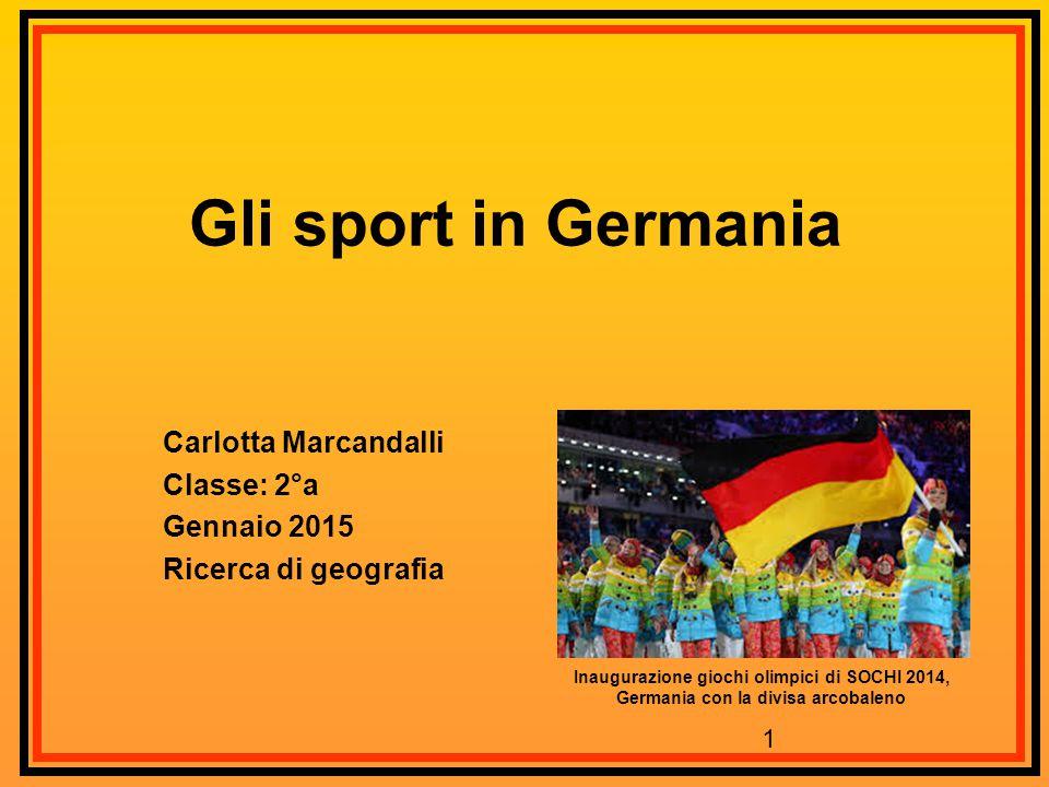 Carlotta Marcandalli Classe: 2°a Gennaio 2015 Ricerca di geografia
