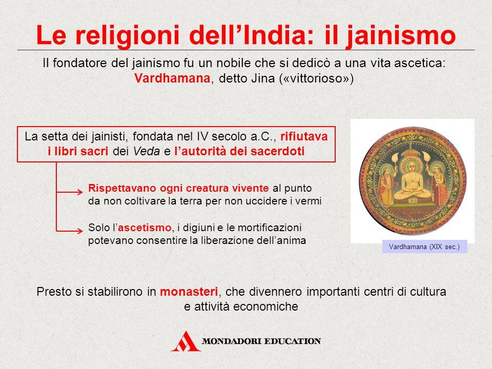Le religioni dell'India: il jainismo