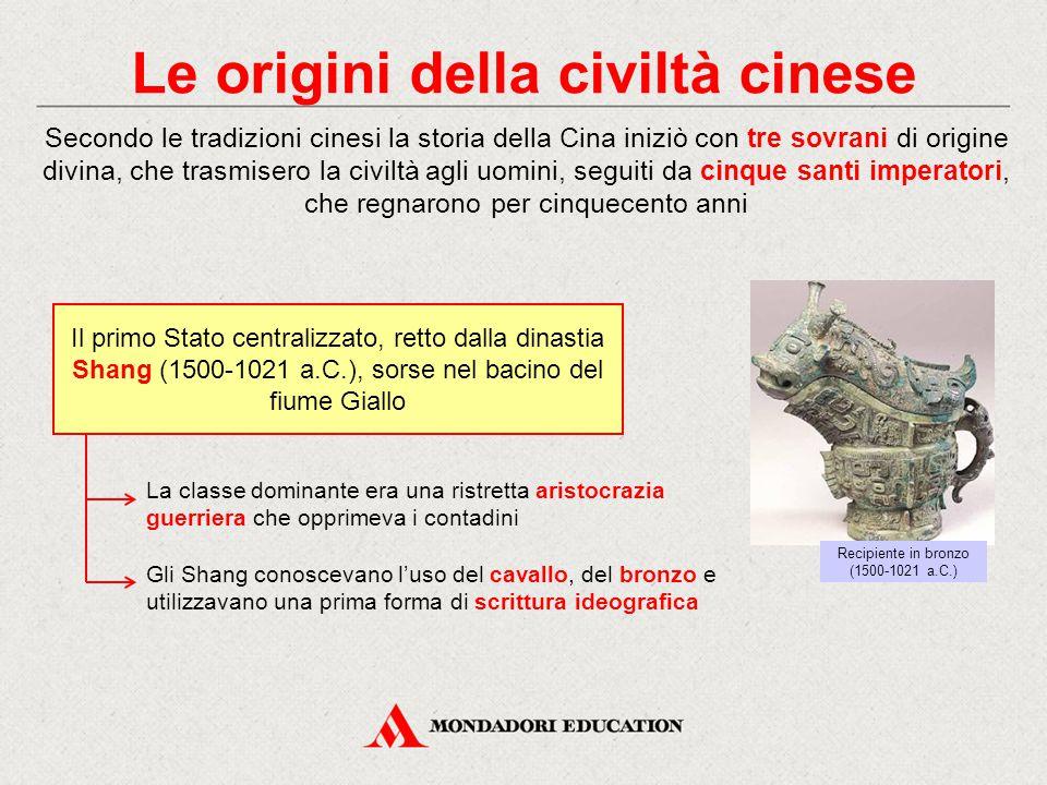 Le origini della civiltà cinese