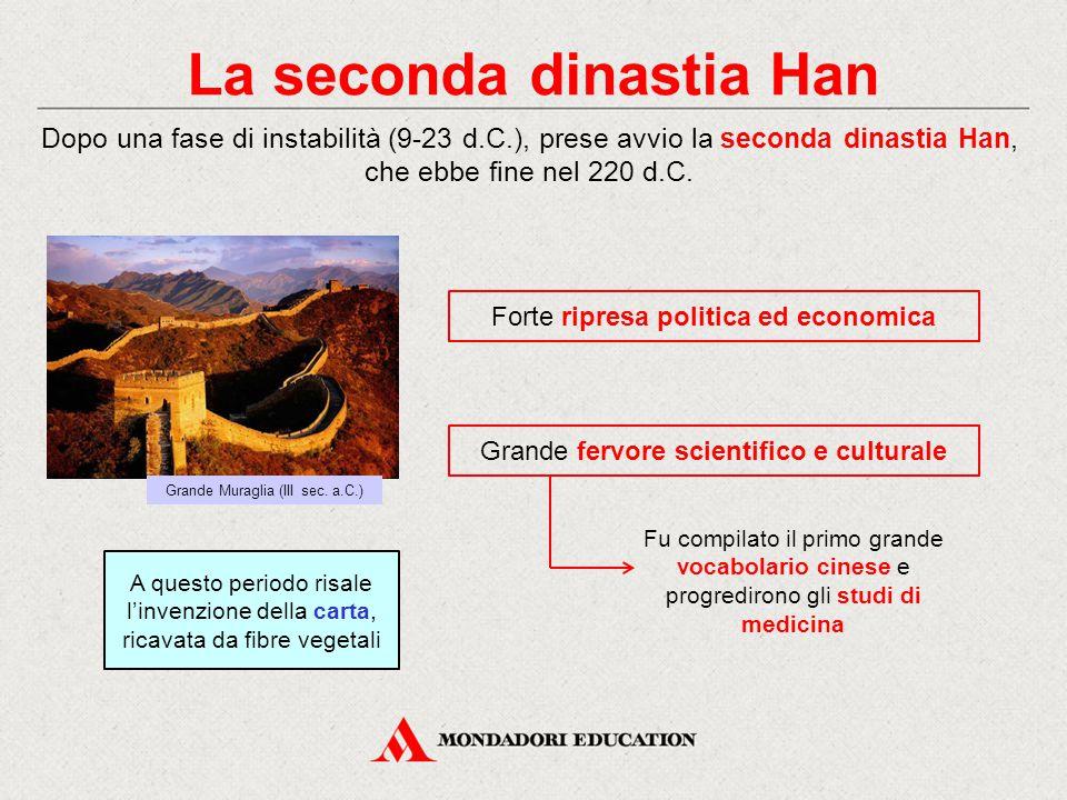 La seconda dinastia Han