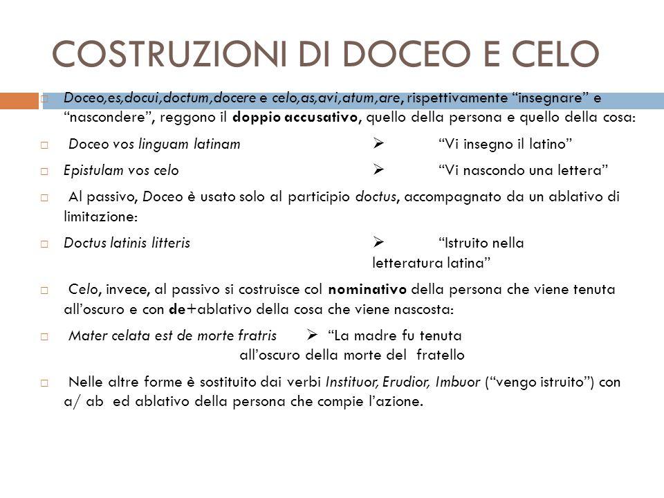 COSTRUZIONI DI DOCEO E CELO