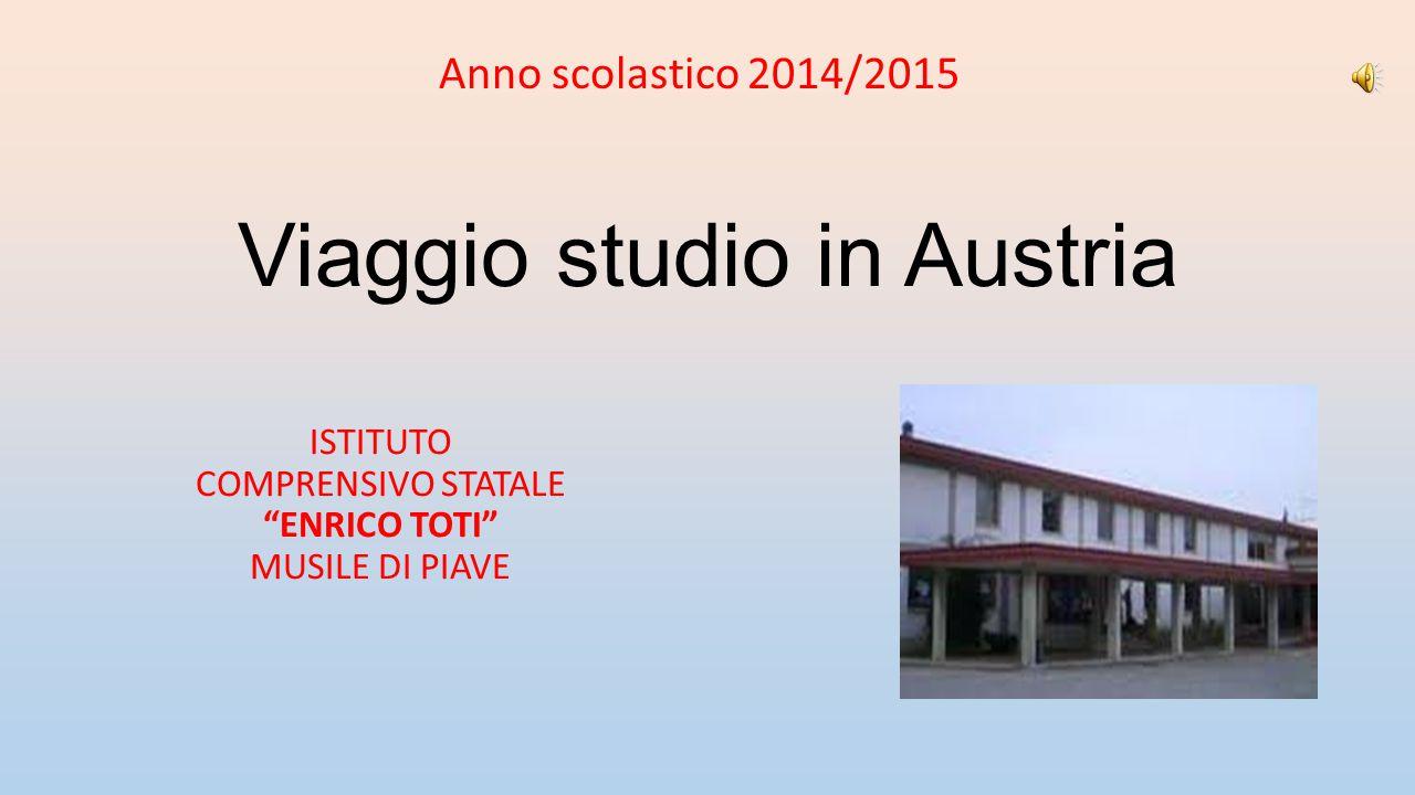 Viaggio studio in Austria