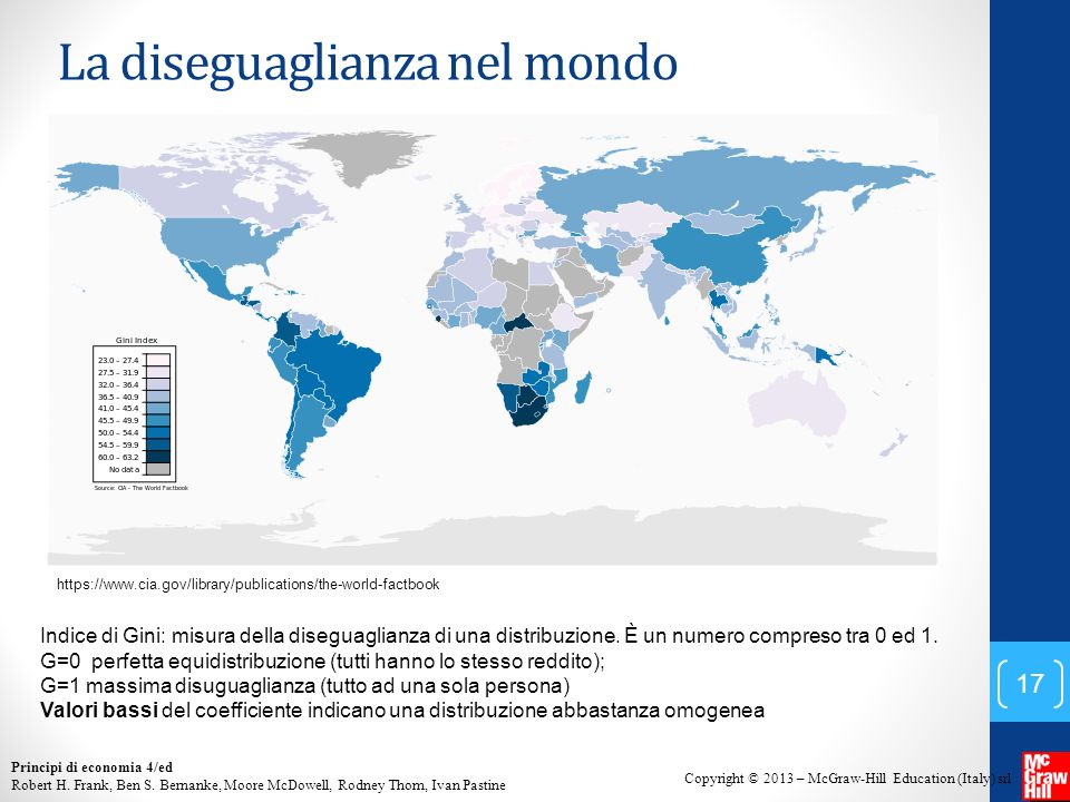 La diseguaglianza nel mondo