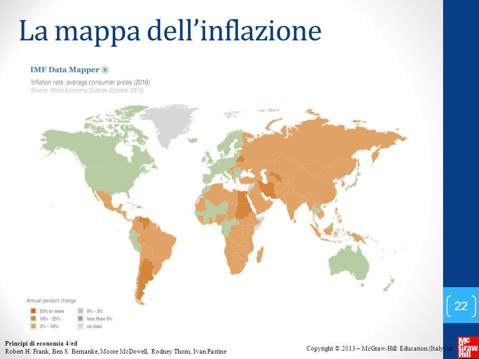 La mappa dell'inflazione
