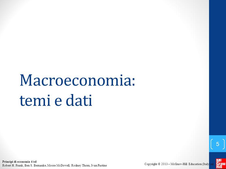 Macroeconomia: temi e dati