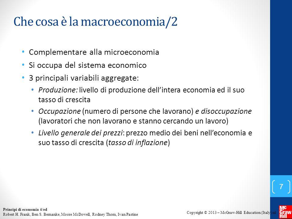Che cosa è la macroeconomia/2