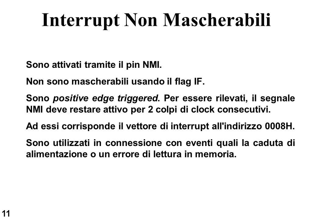 Interrupt Non Mascherabili