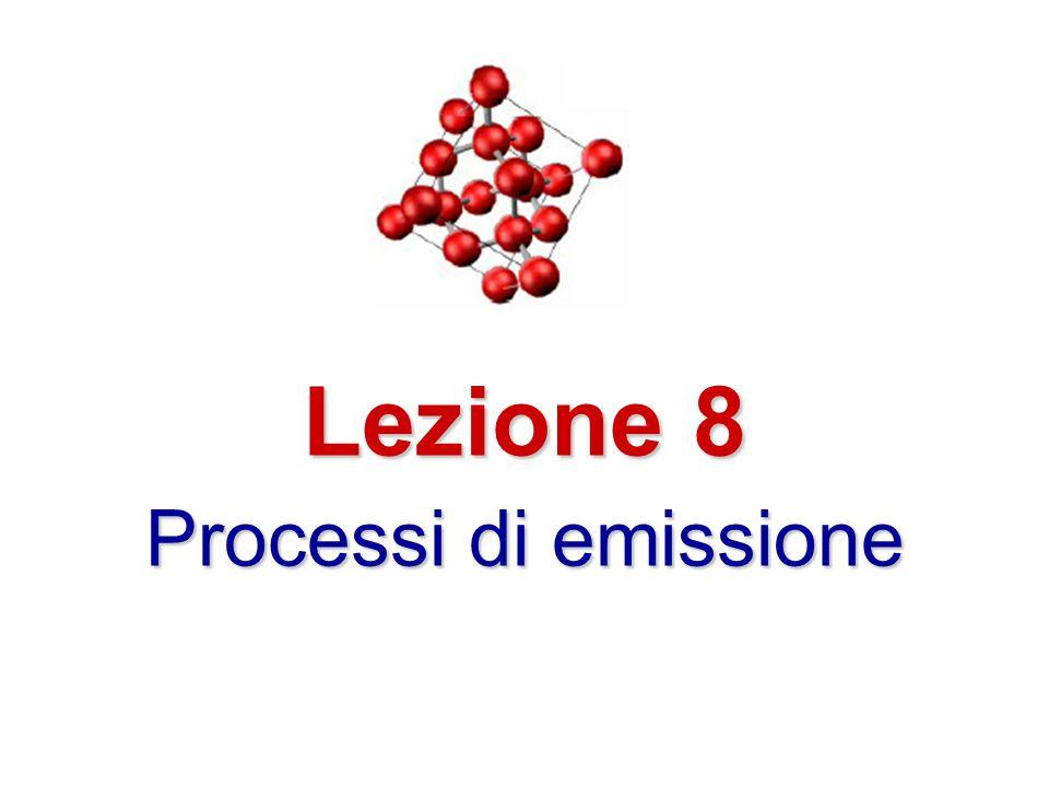 Lezione 8 Processi di emissione