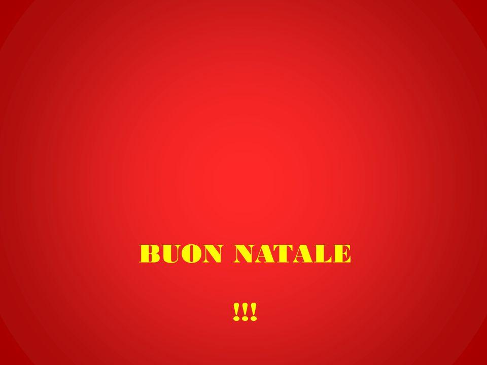 Buon natale !!!