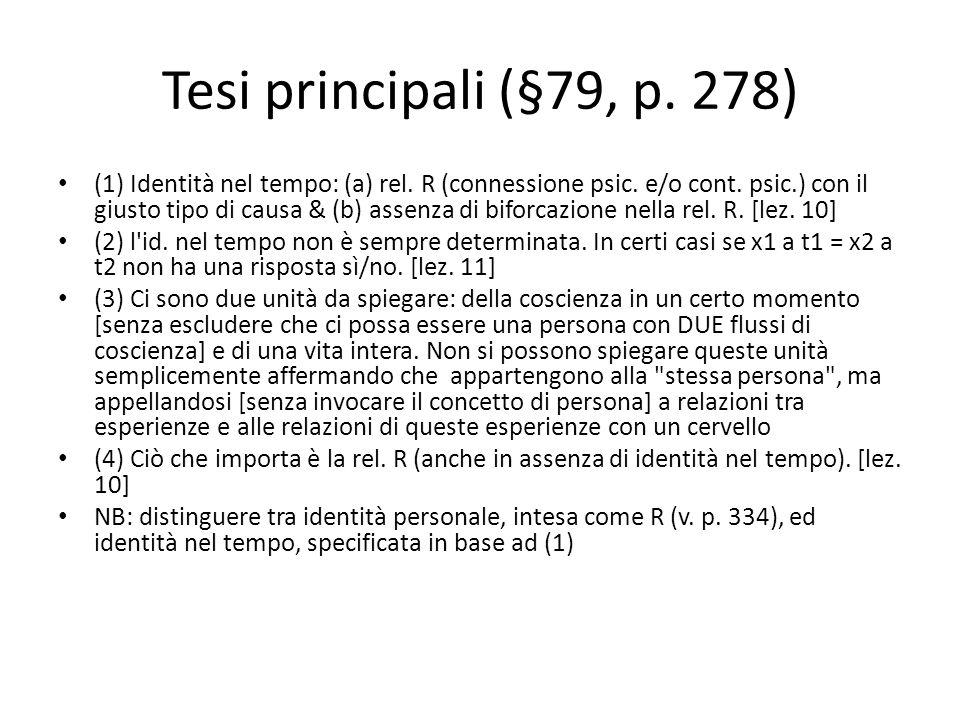 Tesi principali (§79, p. 278)
