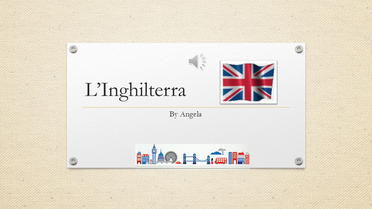 L'Inghilterra By Angela