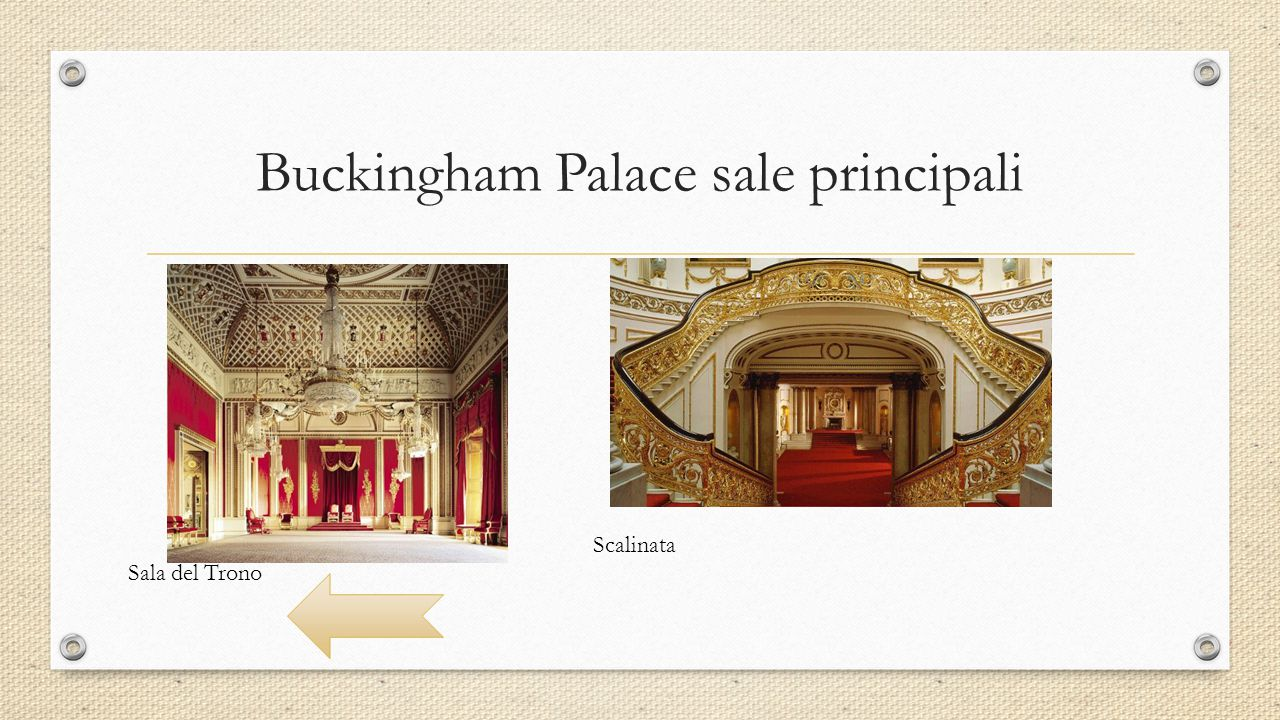 Buckingham Palace sale principali