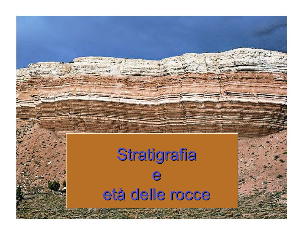 Stratigrafia Stratigrafia e e et et à à delle rocce delle rocce