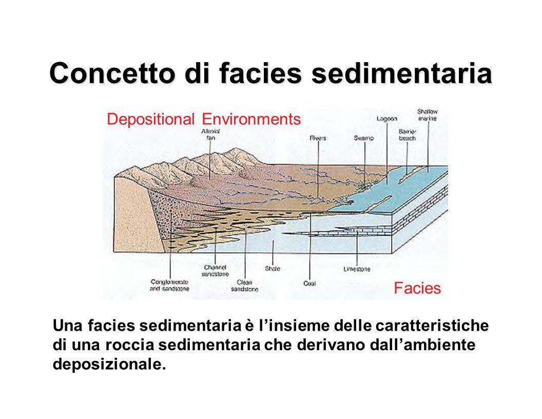Concetto di Concetto di facies facies sedimentaria sedimentaria