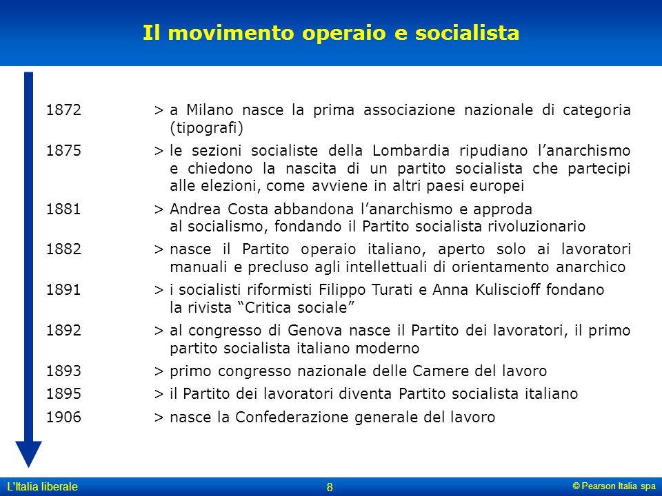 Il movimento operaio e socialista