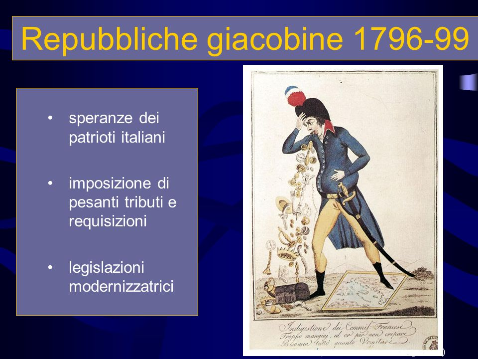 Repubbliche giacobine 1796-99