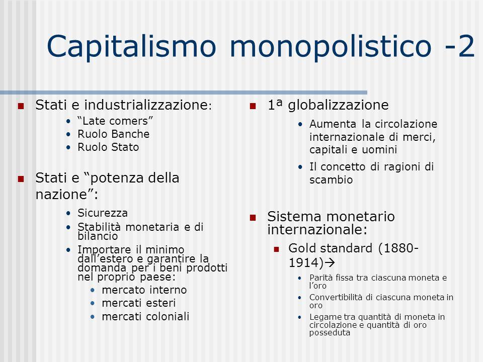 Capitalismo monopolistico -2