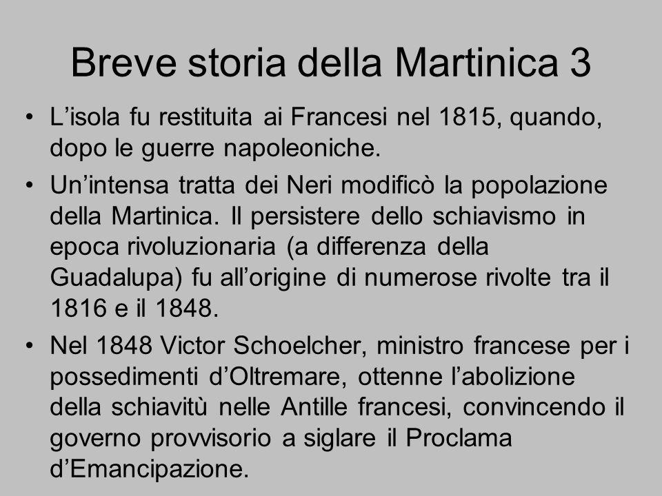 Breve storia della Martinica 3