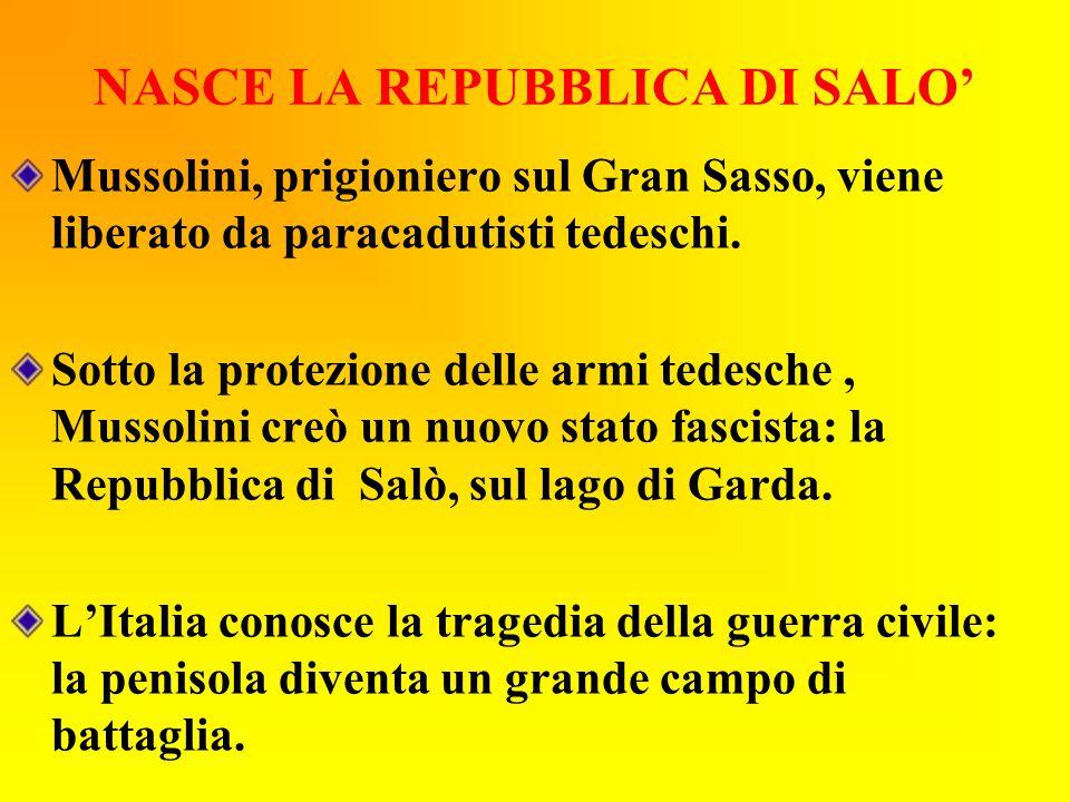 NASCE LA REPUBBLICA DI SALO'