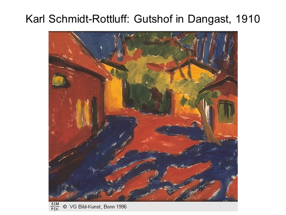 Karl Schmidt-Rottluff: Gutshof in Dangast, 1910