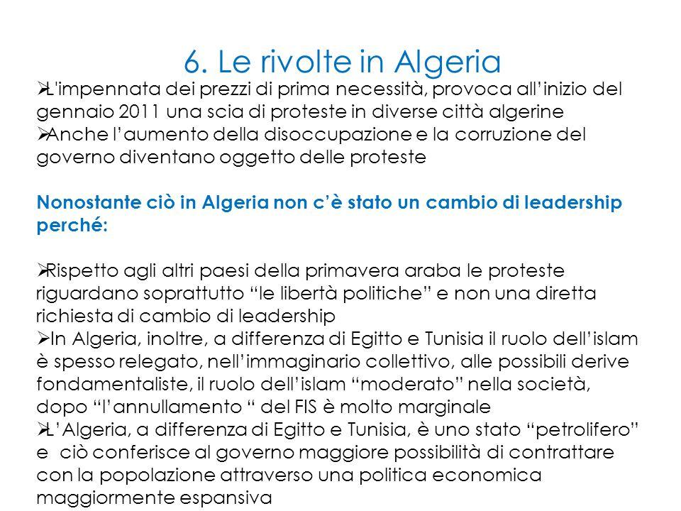 6. Le rivolte in Algeria