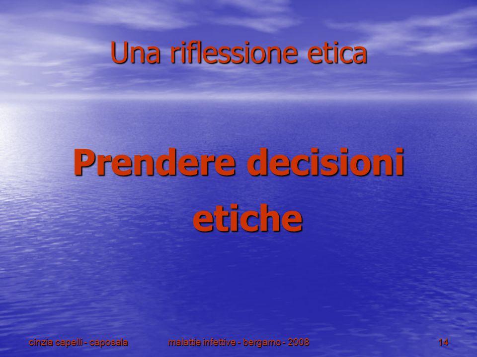 Prendere decisioni etiche