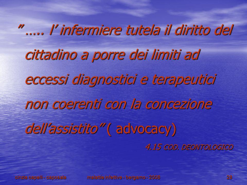 malattie infettive - bergamo - 2008