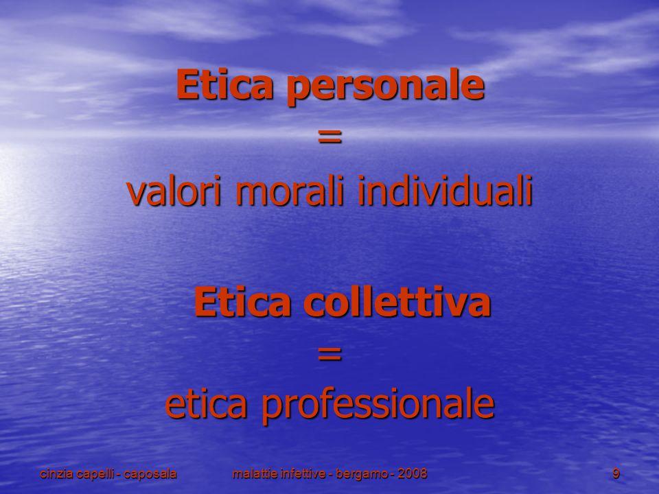 valori morali individuali Etica collettiva etica professionale