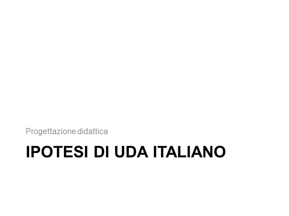 IPOTESI DI UDA ITALIANO