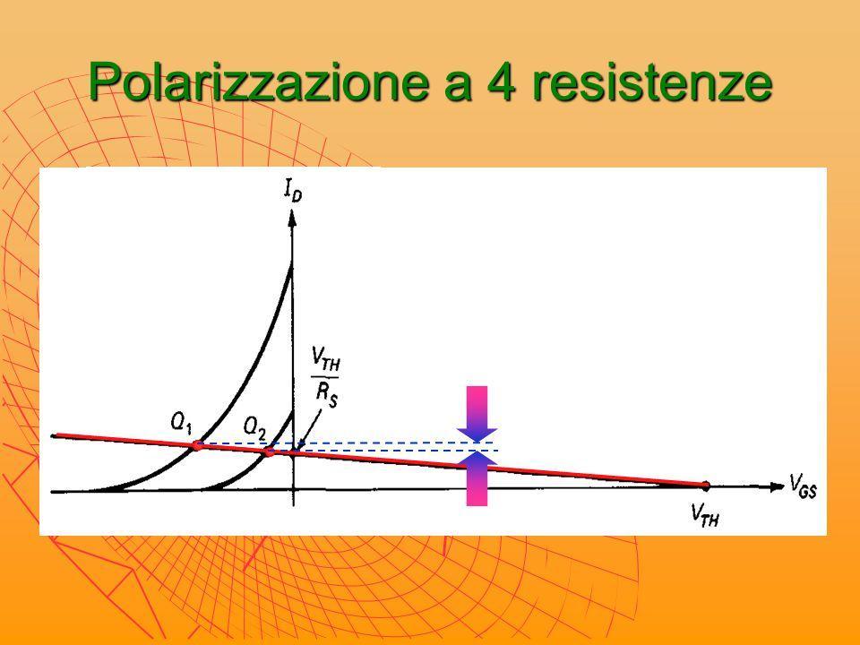 Polarizzazione a 4 resistenze