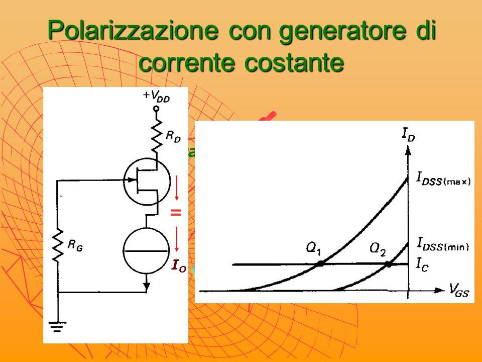 Polarizzazione con generatore di corrente costante
