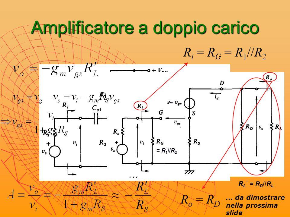 Amplificatore a doppio carico