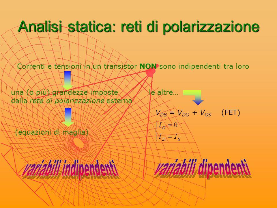 Analisi statica: reti di polarizzazione