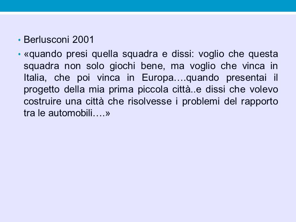 Berlusconi 2001